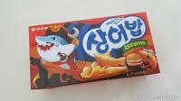 오리온 상어밥 새우버거맛 과자간식!