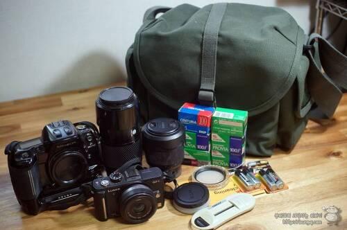 언제나 다시 찾는 명품 카메라가방, 돔케 F-3X Super Compact