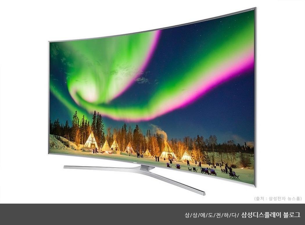 중국 TV 시장은 지금 커브드가 대세!