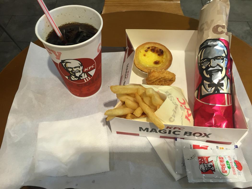 8월.KFC 매직박스