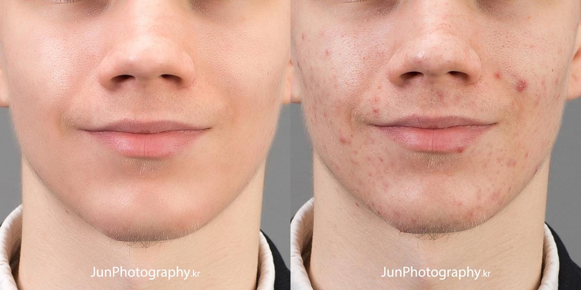 준포토그래피 인물 리터칭 - 피부