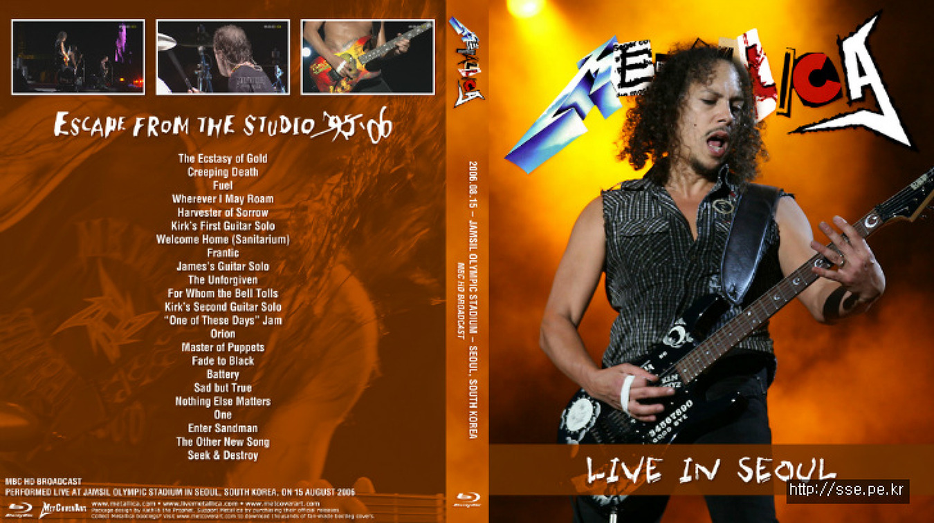 Metallica Live HD 2006 Seoul South Korea