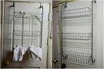 욕실 수납, 바스페이스 3단 문걸이 수납장으로 해결하라