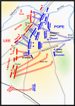 남북전쟁 7. 동부전역 - e. 2차 불런 전투