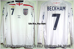 "07/09 England Home L/S No.7 ""Beckham"" (Vs. Brazil 01 Jun 2007) (SOLD OUT)"