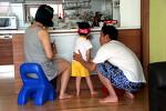 [육아일기] 우리식구 첫 가족사진 찍은날