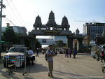 태국에서 캄보디아 국경을 육로로 건너기