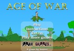 [전쟁시대-Age Of War] 전쟁시대 플래시게임/성지키기/중독성게임