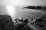 Edge of the sea...