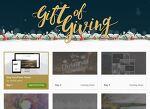 엔바도(Envato) 2016년 12월 24일까지 매일 무료 행사 - Gift of Giving campaign