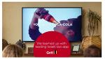 Coca-Cola 비콘을 활용한 TV광고 진행 - Second screen reinvented -