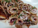 간단하고 맛있는 초가을별미, 햇오징어 불고기~