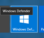 빌드 14986: Windows Defender의 새로운 UI