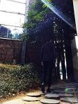 [남자 데일리룩] 남자 봄 자켓 코디 with [바쏘옴므] 그레이 체크자켓 & [젠틀맨즈컨셉] 네이비 셔츠 슬랙스