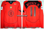 04/06 Belgium Home L/S No.11 Mpenza M. Player Issue Shirt Vs. Lituania (12.10.2005) (SOLD OUT)