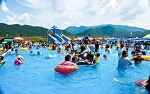 영월동강축제에서 물놀이를 즐기고 별마로천문대와 선암마을한반도지형도 만나보세요