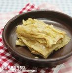 푹 쉬어진 김치로 만든 밑반찬(들깨김치지짐)