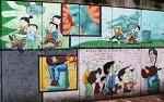 대구 방천시장에서 김광석과 함께 재미있는 볼거리를 만나다