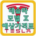 테슬라 모델X 예상가격 알아보기!