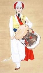 남사당패 최초의 여성 리더 된 조선의 스타 : 바우덕이