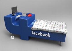 페이스북 유저를 위한 침대