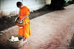 루앙프라방의 아침 공양, 딱밧을 만나다 (2)