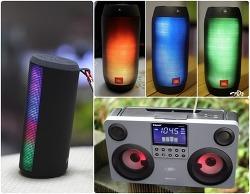 눈으로 듣는 사운드! LED 블루투스 스피커 3종! 특징을 알아보자! 파티 / 코만도 /  펄스2