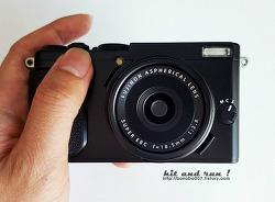 후지 X70 (블랙) - 똑딱이 구입!