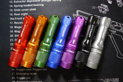 Astrolux A01 Nichia219B AAA Flashlight (Manker E01) 7 colors variation