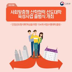 사회맞춤형 산학협력 선도대학 육성사업(LINC+) 출범식 개최