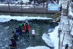 [20170119]의왕바라산휴양림 얼음썰매장 무료 운영