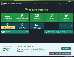 AVG Internet Security 2014 (1년프로모션)