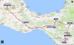 [여행루트] 안티과 → 세묵참페이 → 플로레스 → 팔렌케 → 산크리스토발 → 와하카 → 멕시코시티