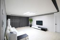 37평아파트인테리어 동탄 꿈의그린 블랙앤화이트