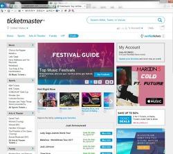 Ticketmaster (미국 경기/공연 등 티켓 구매) : 농구경기 예약