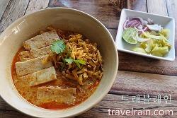 [치앙마이 맛집] 님만해민 거리의 카우쏘이 전문식당