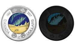 캐나다, 세계 최초 야광 컬러 주화 발행 Canada releases world's first glow-in-the-dark coin to mark 150th anniversary: VIDEO