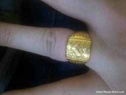 [반지빼기] 안 빠지는 반지... 최후의 방법은..??