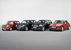 "The new MINI: a present-day original and ""Classic of the Future""."