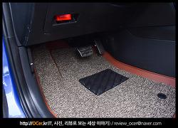 제트비 6D 자동차 매트 브라운 색상 후기