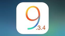 iOS 9.3.4 버전 아이폰을 탈옥 가능한 iOS 9.3.3 버전으로 다운그레이드 하는 방법
