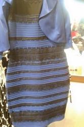 이 드레스 색깔이 뭘로 보이시나요?