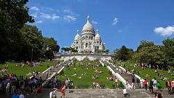 Monmartre, Paris France (4K)