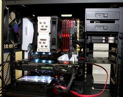 i7 7700K 5GHz 오버클럭 공냉 AORUS Z270X Gaming 9