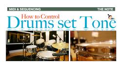 가상악기 드럼 톤 컨트롤 가이드 ( 1 ) ( How to Control Drums set Tone # 1 ) - 29번째 강좌
