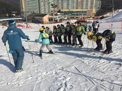 백운초 스키캠프 운영