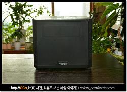개인용 가정용 NAS 구축 위한 프렉탈 CORE 500 ITX 컴퓨터케이스
