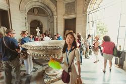 바티칸 박물관 여행의 시작! 벨베데레 정원의 조각상들 (아폴로 라오콘 군상 등)