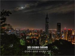 [타이페이 야경 명소] 샹산에 올라 타이페이 야경 즐기기