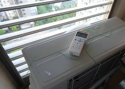 실외기 에어로드 설치로 실외기실 온도 낮추고 에어컨 효율 높이자